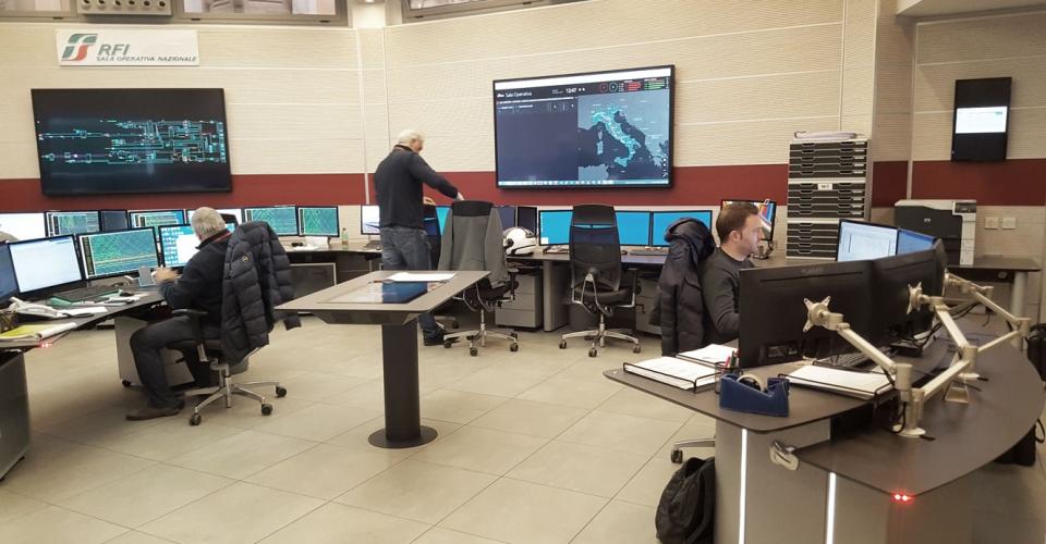 centro de control rfi italia