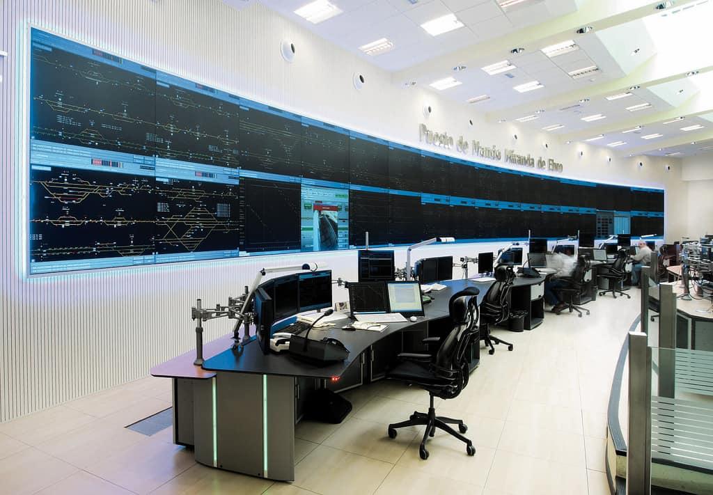ADIF Miranda Ebro Sala de Control