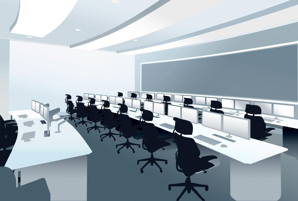 Gesab guarantee for the future for Futuristic control room