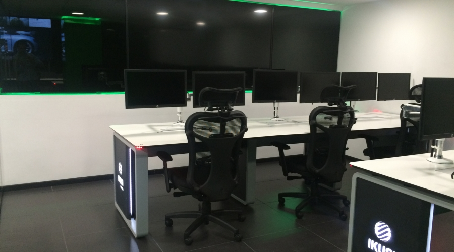 Centro de control IKUSI México gesab