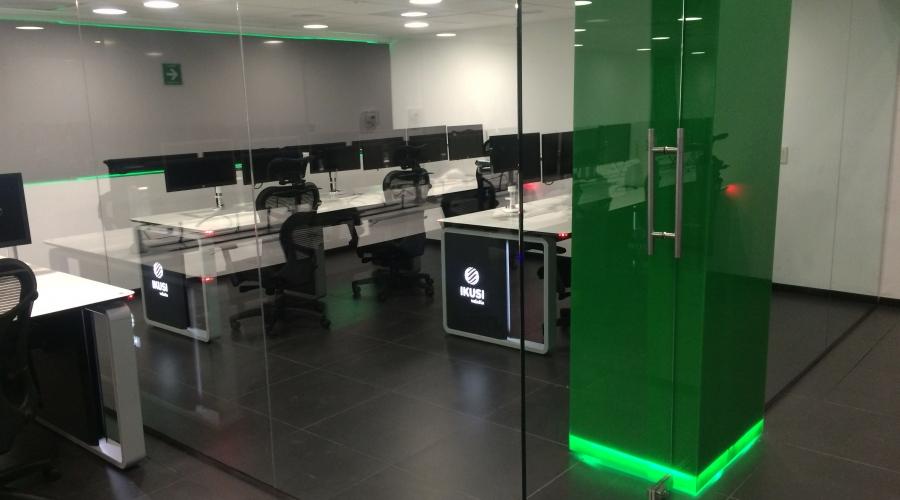 control room IKUSI mexico gesab