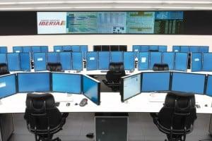 Iberia-control-room