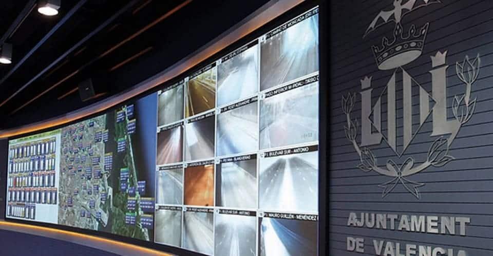 Videowall Aguas de Valencia