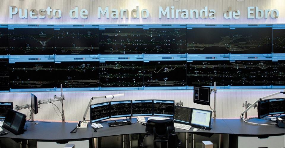 Centro de Control ADIF Miranda de Ebro
