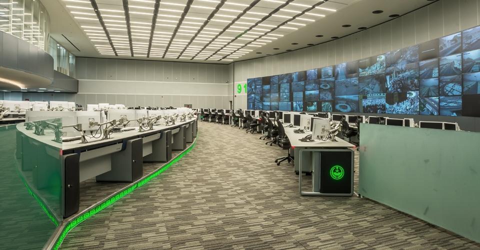 sala de control GESAB MECA