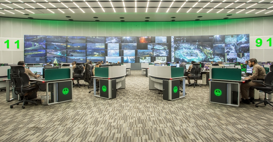 centro de comando y control meca GESAB