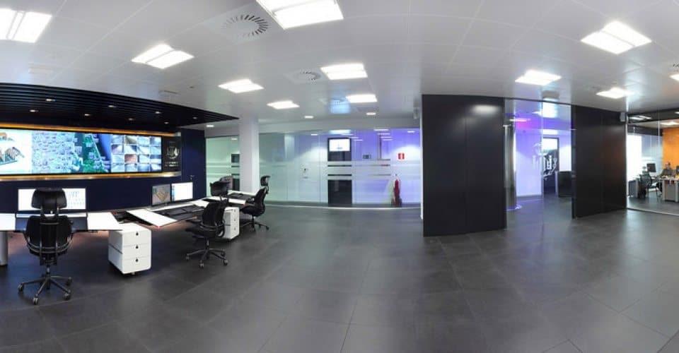 Sala de control Aguas de Valencia