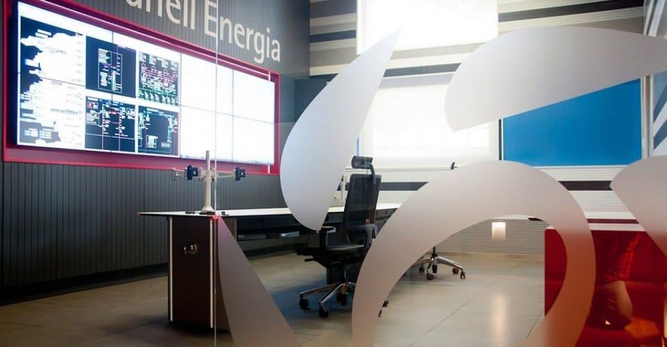 Estabanell control room