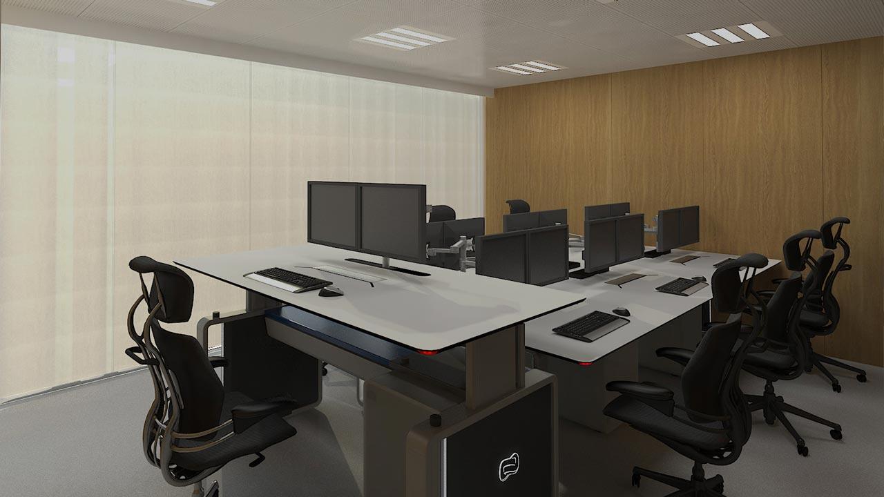 Sit & stand centro de control