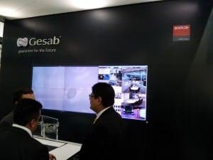 Gesab Consolas de Control y Monitoreo en ExpoSeguridad tnb