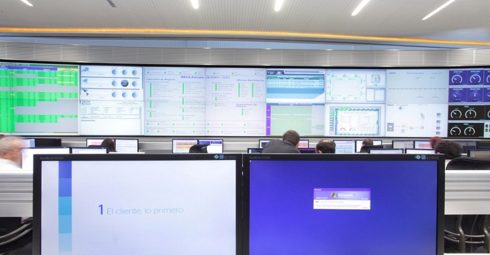 Control Room BBVA-GESAB