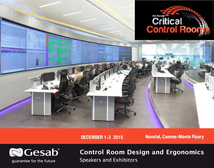 GESAB Conference on Critical Control Rooms GESAB
