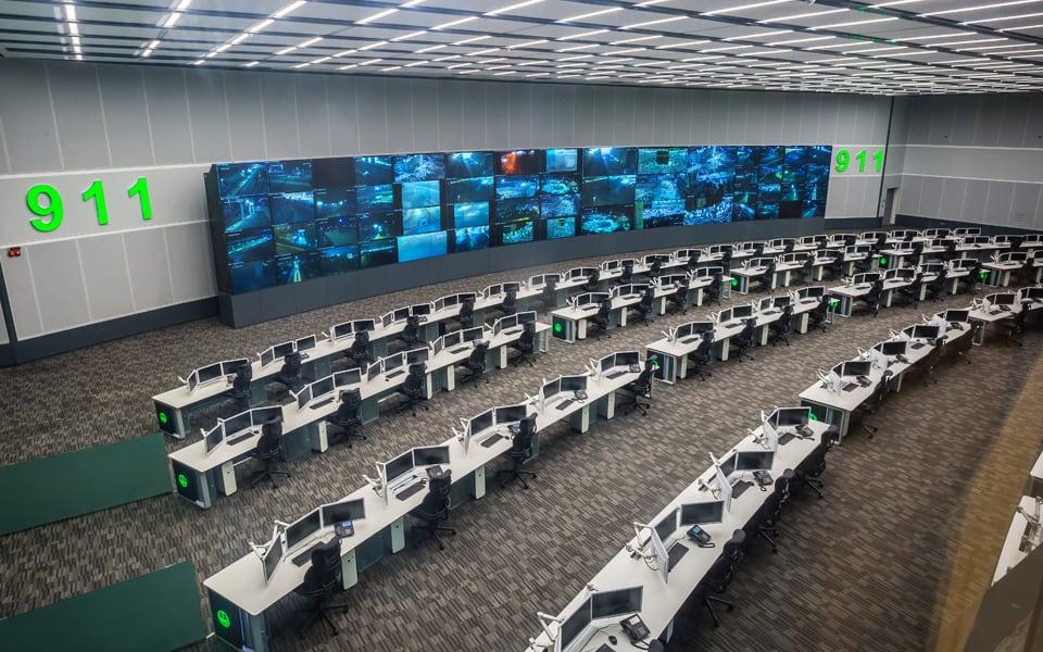 Centro de control 911 Makkah