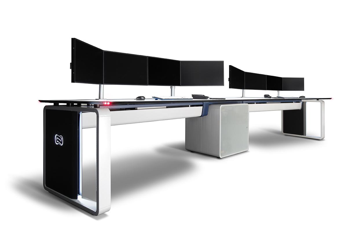 Mobiliario t cnico para salas de control y cpd gesab for Mobiliario ergonomico
