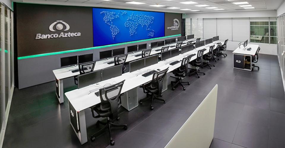 control y monitoreo banco azteca