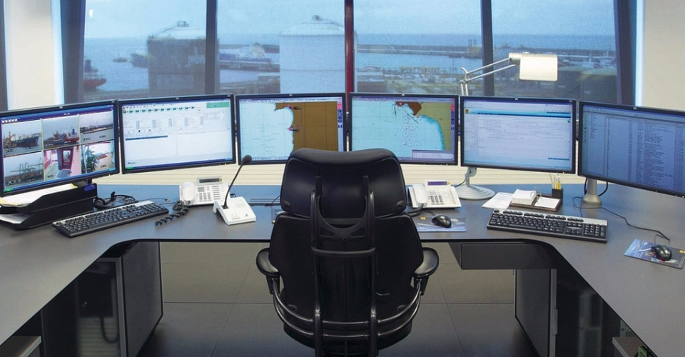 control room porto sines gesab