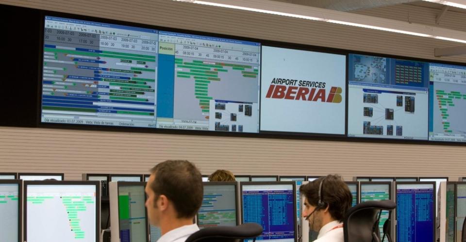 iberia sala de control