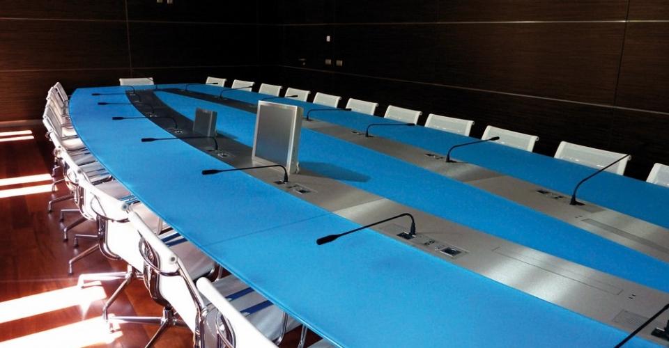 mesa de reuniones Gesab