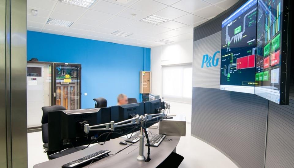 sala de control P&G