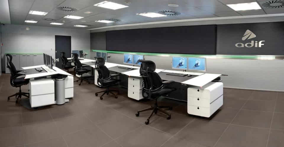 sala de control adif zaragoza
