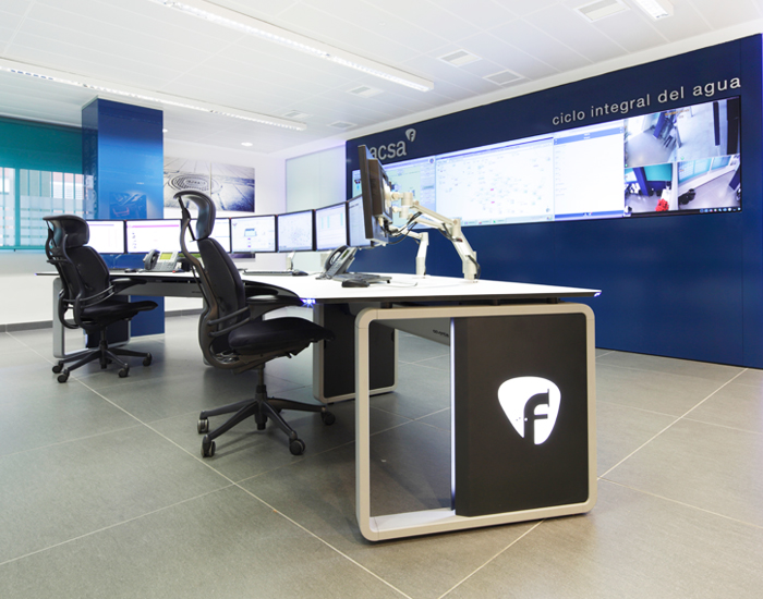 The importance of the designs of a Control Room - Gesab