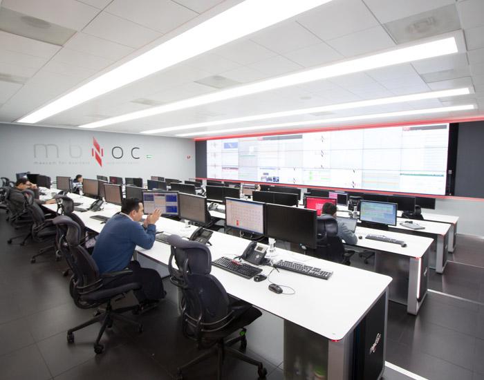 Noc Y Soc Centros De Monitoreo Para La Seguridad Gesab