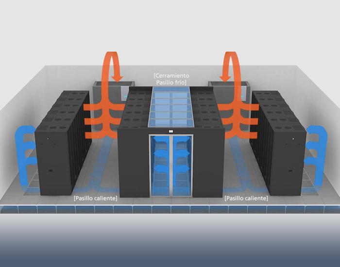 refrigeración data center gesab