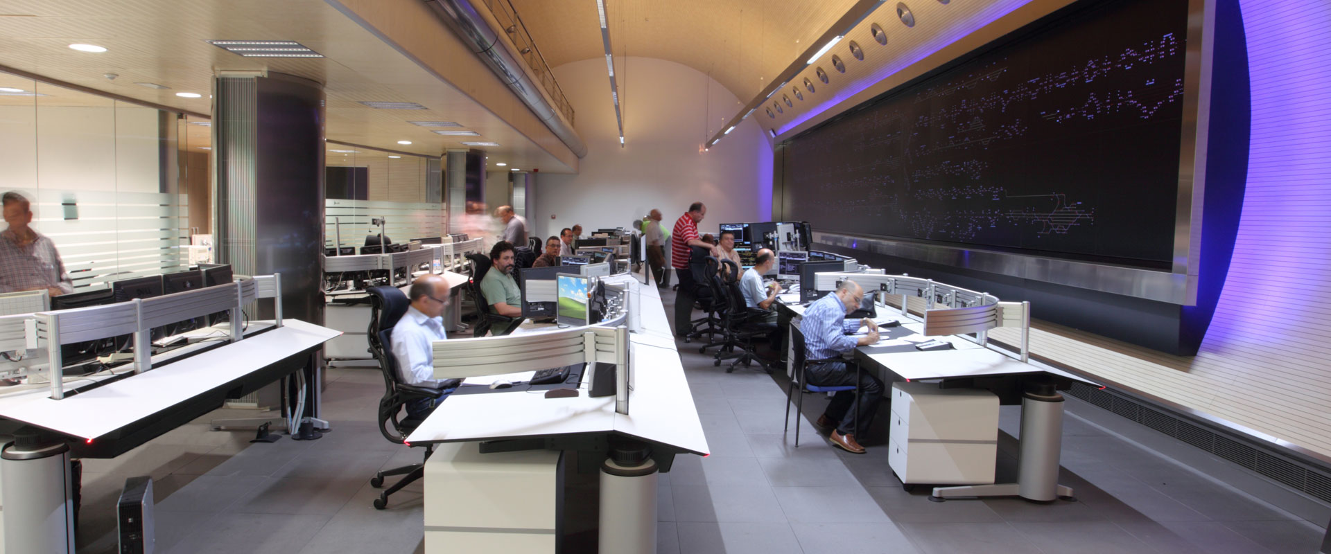 command and control room