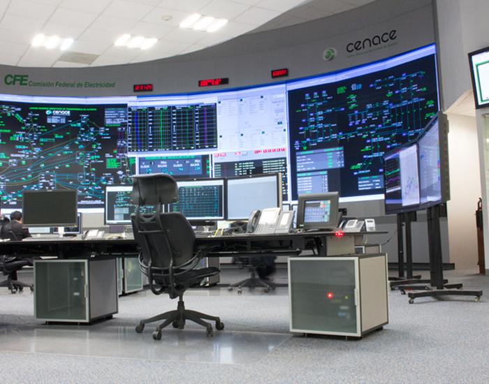 audiovisual sala de control gesab