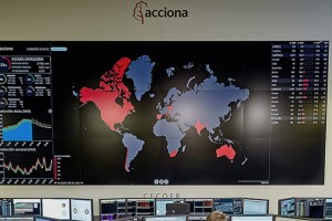 VIDEO WALL CECOER ACCIONA GESAB