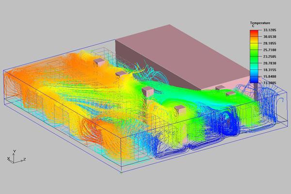 dinámica de fluidos data center