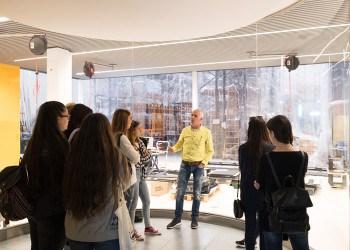 visita estudiantes diseño pau gargallo