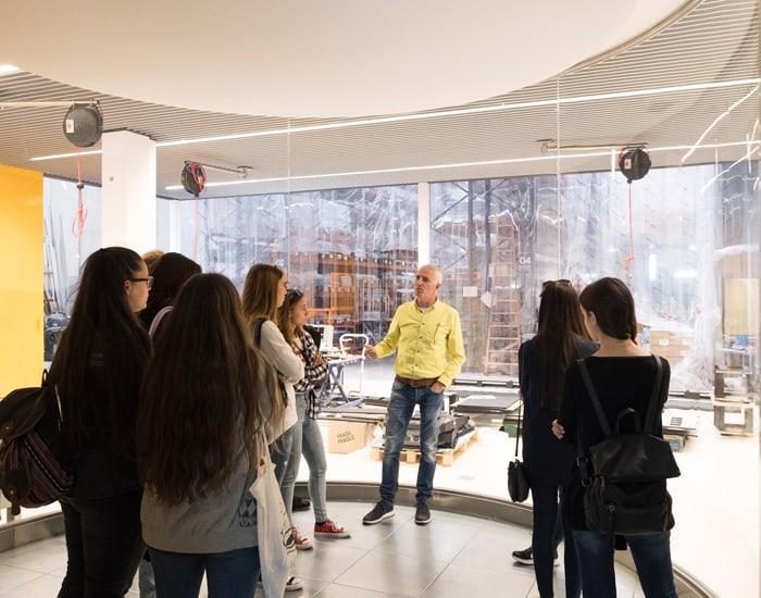 La escuela de arte y dise o pau gargallo visita gesab - Escuela superior de diseno barcelona ...