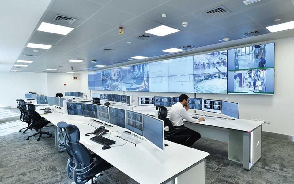 Control Consoles Dubai Transport Strategic Project