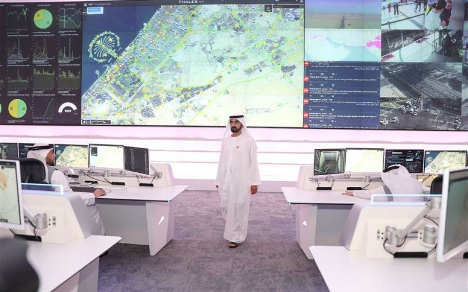 Videowall Dubai Transport Strategic Project
