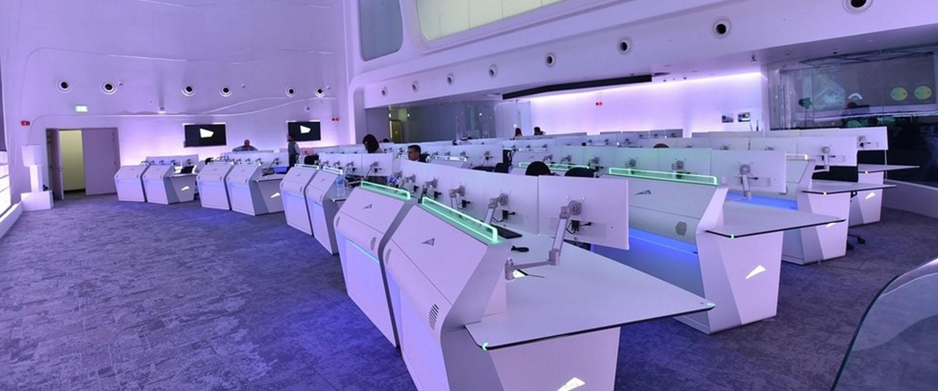 control room dubai gesab