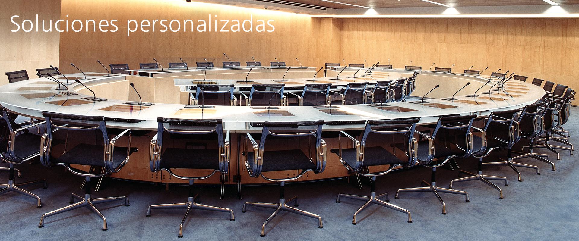 Mesas salas de juntas