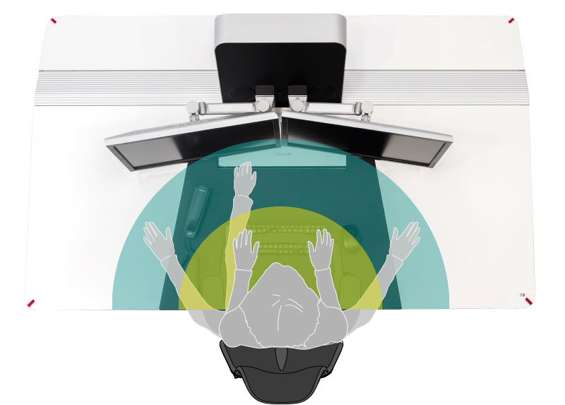 ergonomics control console