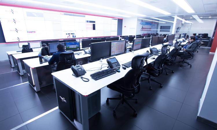 gestión eficiente del centro de control