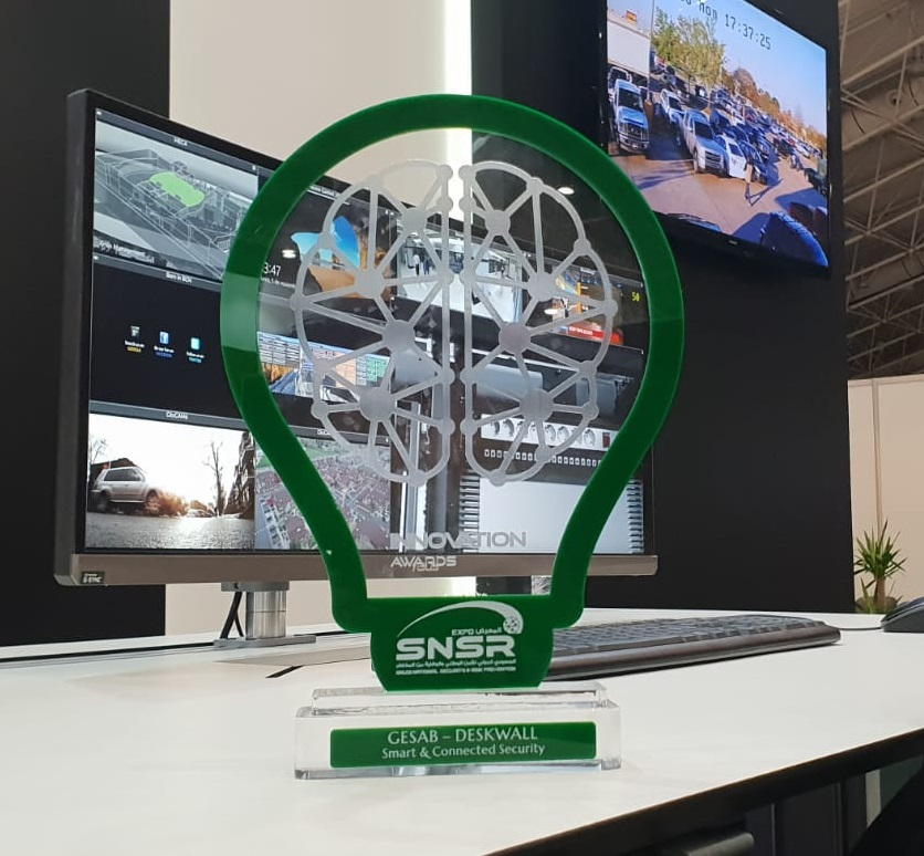deskwall security innovation award snsr