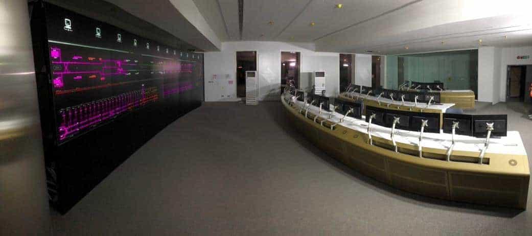 Caso de éxito consolas de control Riyadh Metro