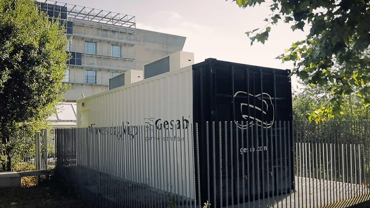 Container Data Center Universidad de Vigo