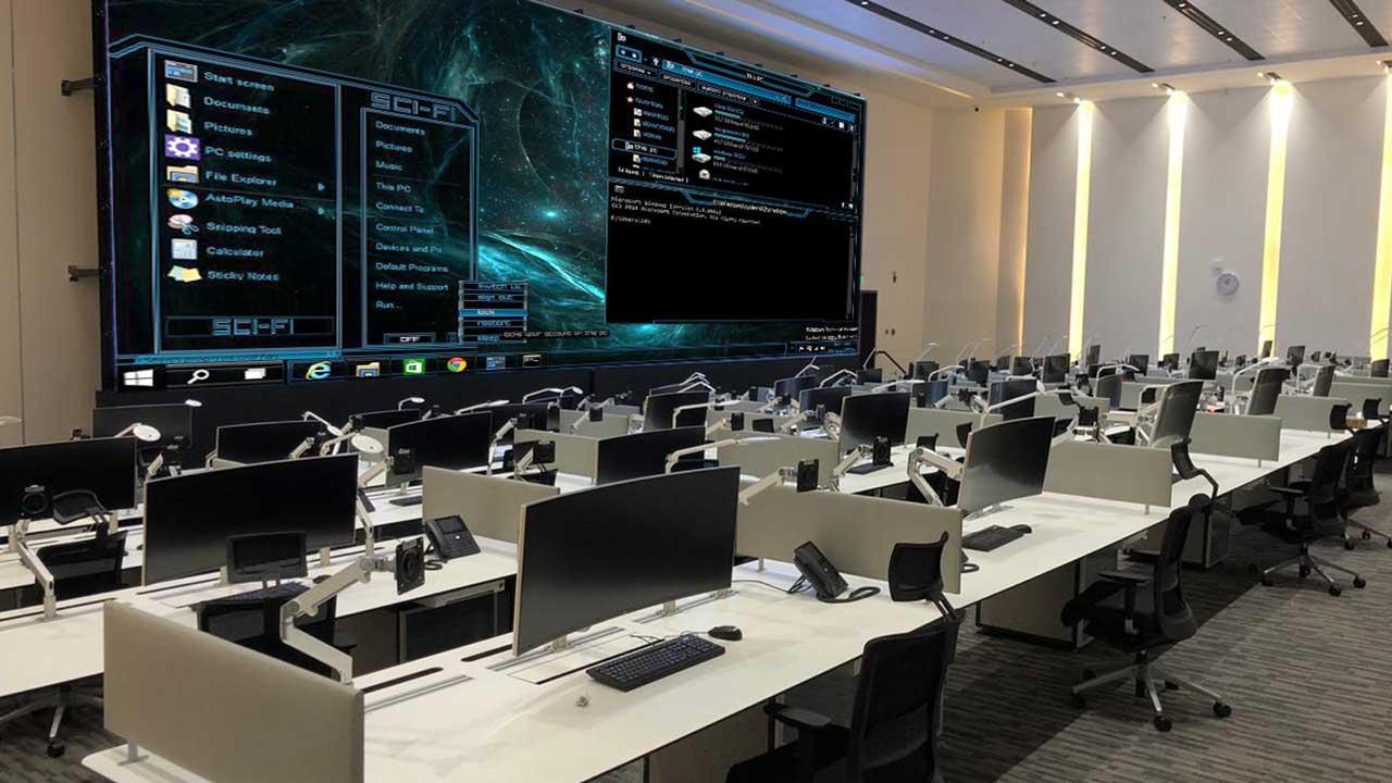 Al Ula control room