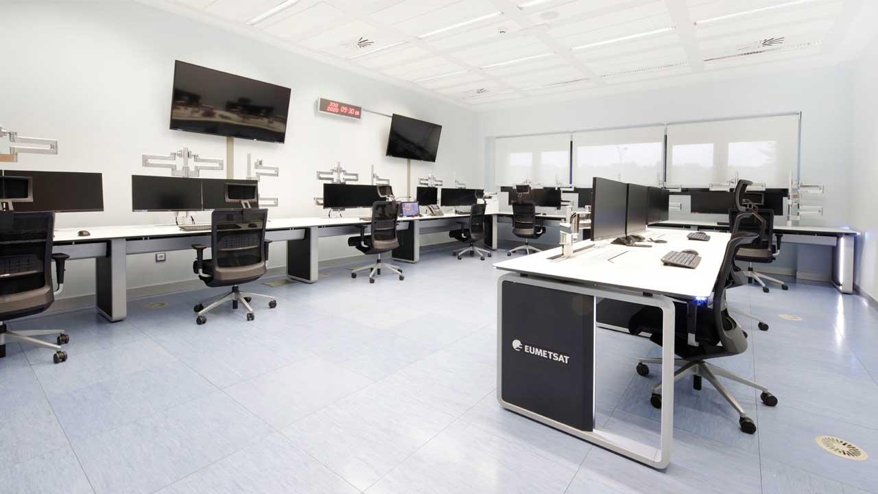 EUMETSAT control room