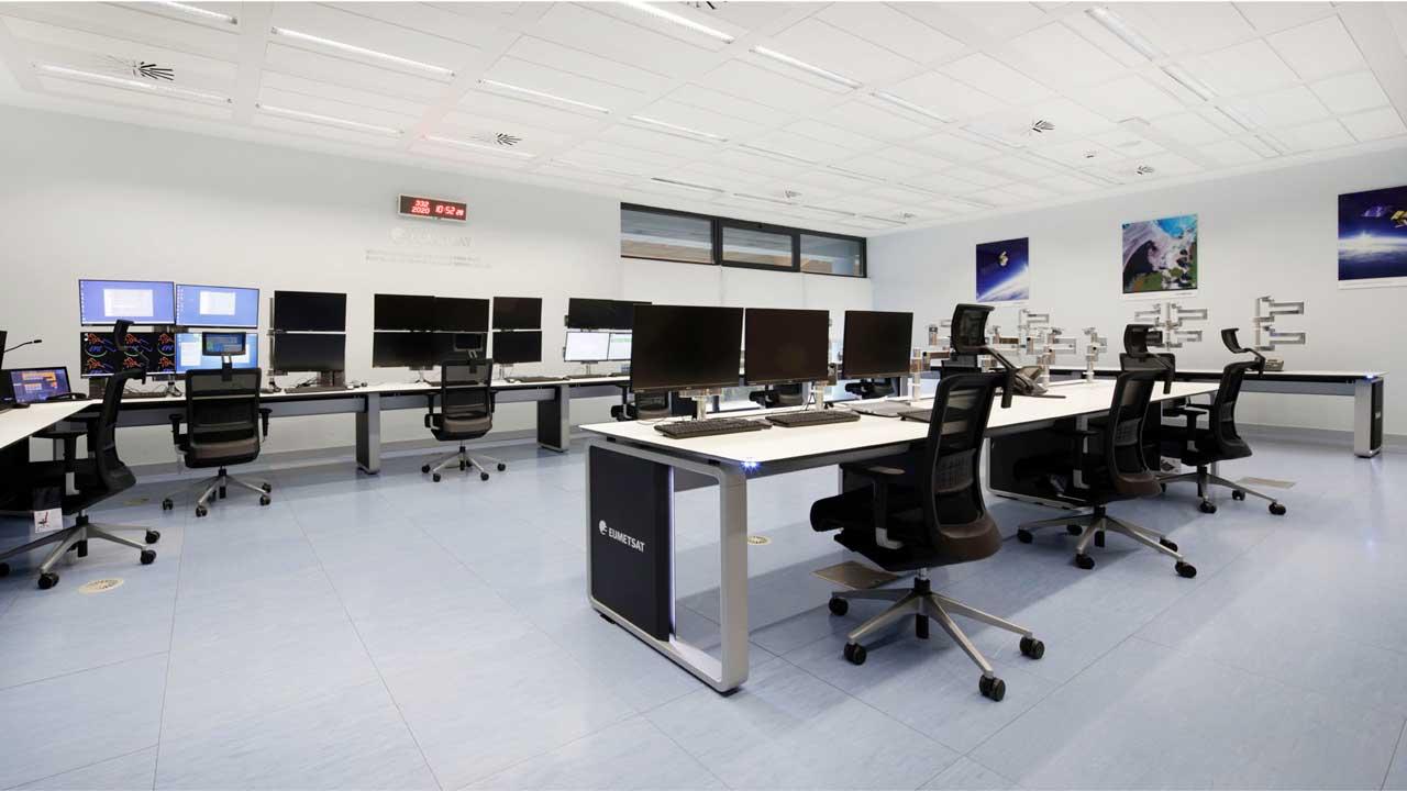 EUMETSAT control consoles
