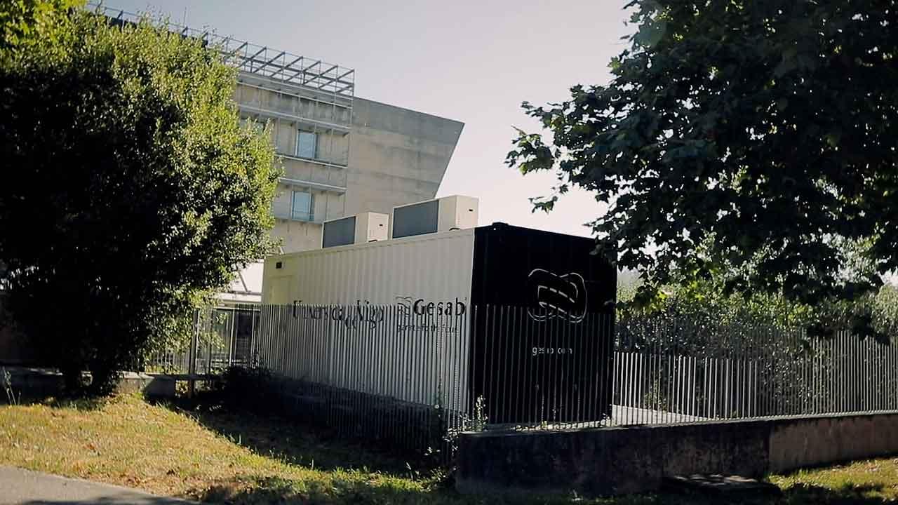CPD Container Universidad Vigo