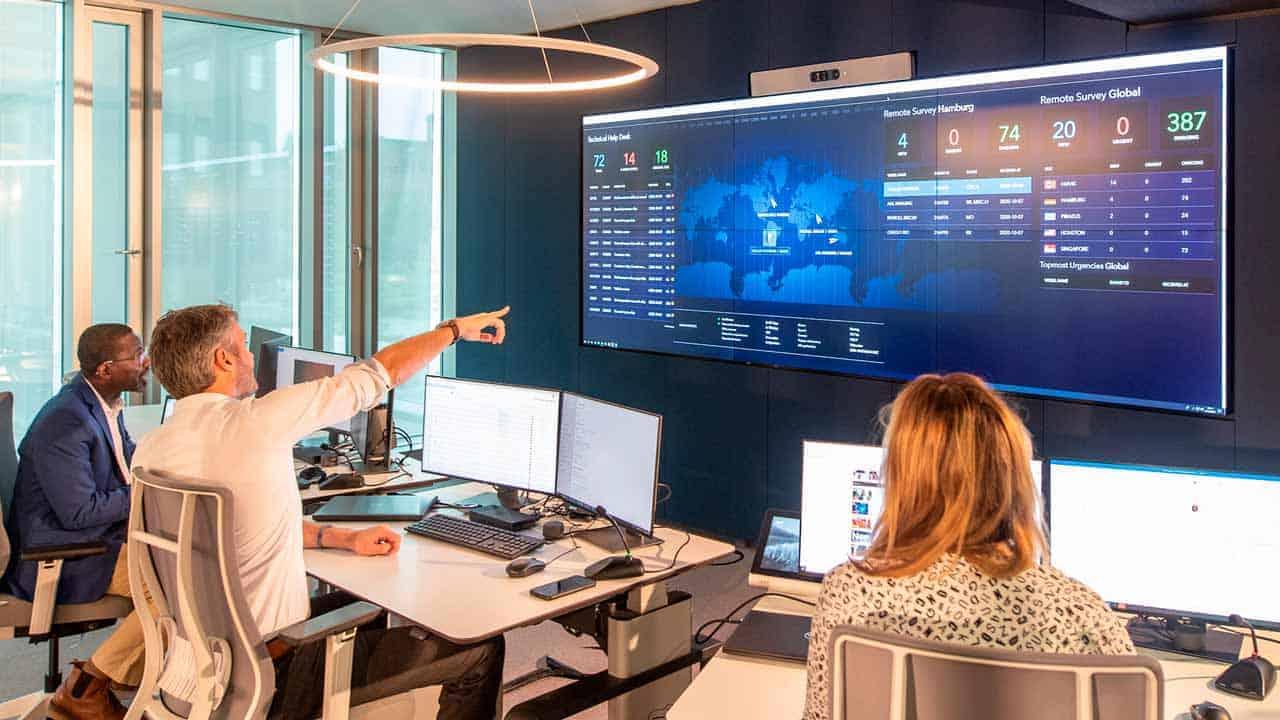 Sala de control de DNV GL