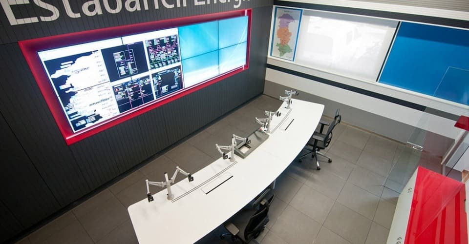 Control room Estabanell Energía