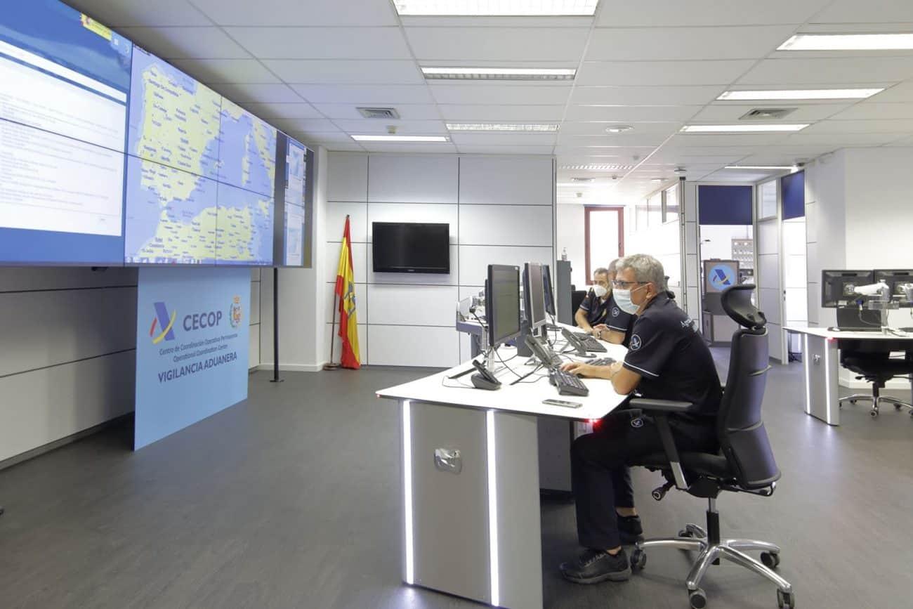 Sala de control CECOP