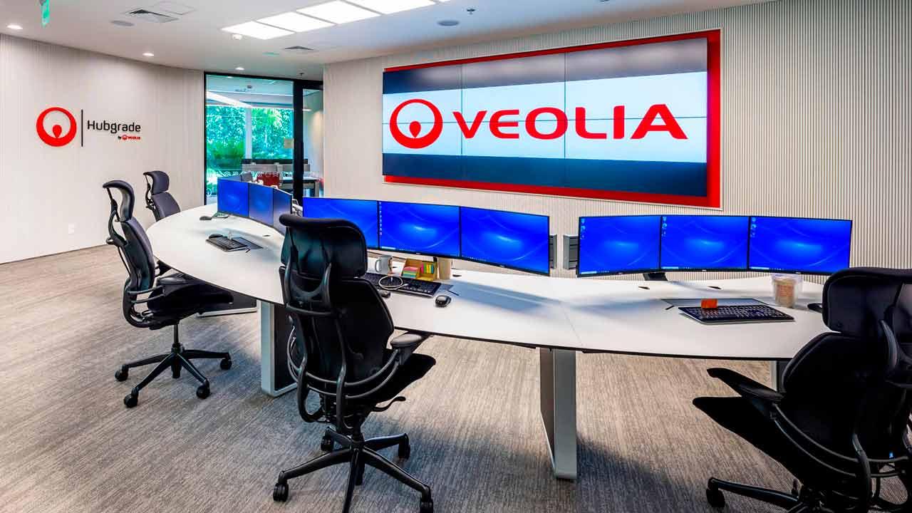 Veolia Brasil Consola de control